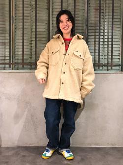 ルミネエスト新宿店のAzusaさんのLeeの【ふっくらボア】CPO ジャケットを使ったコーディネート