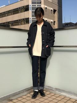DENIM GALAXY日暮里店のChihiroさんのEDWINのEDWIN LADIES ジャージーズ テーパード【スタンダードモデル】を使ったコーディネート