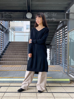 DENIM GALAXY日暮里店のChihiroさんのSOMETHINGのSOMETHING LISA ワイドを使ったコーディネート