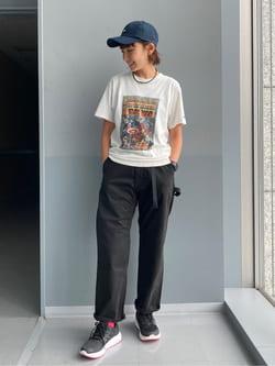 Lee アミュプラザ博多店のMarikoさんのLeeの【Lee×GRAMICCI(グラミチ)】ルーズフィット ペインターパンツを使ったコーディネート