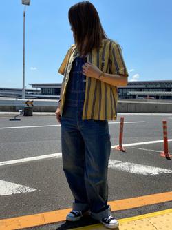 成田空港店(閉店)のMegumiさんのLeeの終了【再値下げ!サマーセール】オープンカラーシャツ 半袖を使ったコーディネート