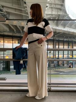 成田空港店(閉店)のMegumiさんのLeeの【シークレットセーール!!】MARINE マリンパンツを使ったコーディネート