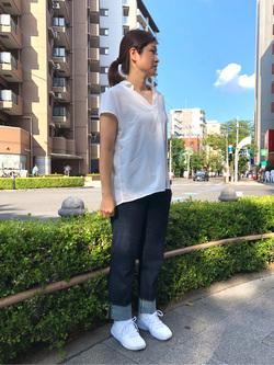 日暮里駅前店のyumiさんのSOMETHINGの【おまとめ割15%OFF対象】SOMETHING ELSA ストレートを使ったコーディネート