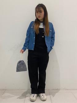 大阪店のRunaさんのLeeの終了【シークレットセーール!!】ベビー&キッズ オーバーオール 【80-160cm】を使ったコーディネート