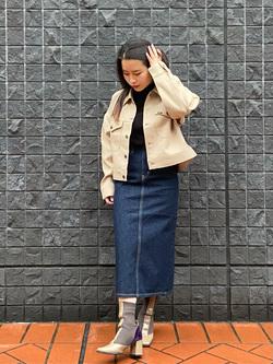 大阪店のRunaさんのLeeのSTANDARD WARDROBE スカートを使ったコーディネート