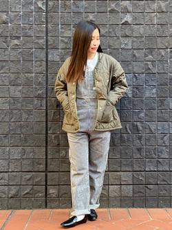 大阪店のRunaさんのLeeのキッズ オーバーオール【130cm-160cm】を使ったコーディネート