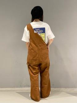 大阪店(閉店)のRunaさんのLeeの終了【ガレージセール】バックプリント 半袖Tシャツを使ったコーディネート