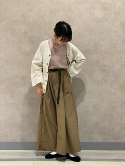 Lee 名古屋店のyuzukiさんのLeeの【Lee×GRAMICCI(グラミチ)】ロングスカートを使ったコーディネート