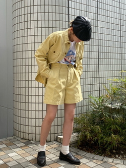 Lee 名古屋店のyuzukiさんのLeeの【SALE】【Buddy Lee100周年記念】Lee×Wisut Ponnimit 長袖Tシャツを使ったコーディネート