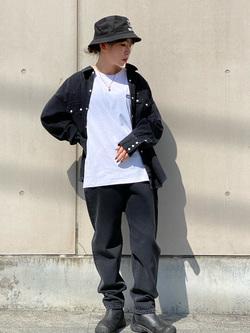 Lee 名古屋店のyuzukiさんのLeeのBLACK RIDERS デニムシャツを使ったコーディネート