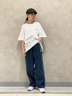 Lee 名古屋店のyuzukiさんのLeeの【再値下げSALE】バックプリント 半袖Tシャツを使ったコーディネート