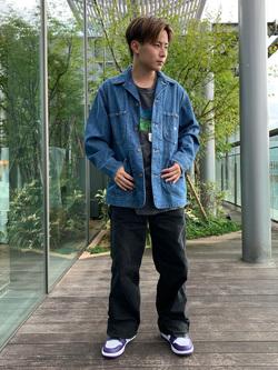 Lee アミュプラザ博多店のTaikiさんのLeeのカバーオールジャケットを使ったコーディネート