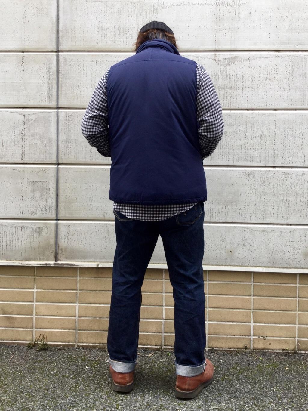 TOKYO HARAJUKU店のSHIZUKUさんのEDWINの【ガレージセール】【コンセプトショップ限定】F.L.E NAVY PACK  LEVEL7 VESTを使ったコーディネート