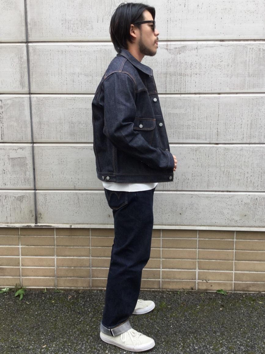 TOKYO HARAJUKU店のSHIZUKUさんのEDWINの【コンセプトショップ限定】DENIM JACKETを使ったコーディネート