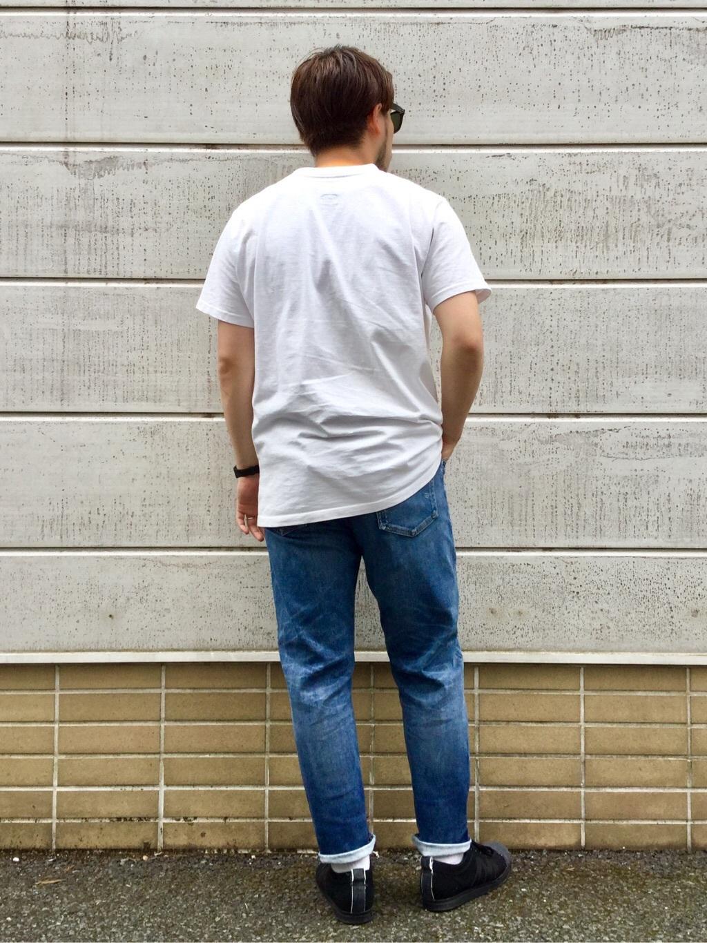TOKYO HARAJUKU店のSHIZUKUさんのEDWINのジャージーズ ルーズテーパード【プレミアムモデル】を使ったコーディネート