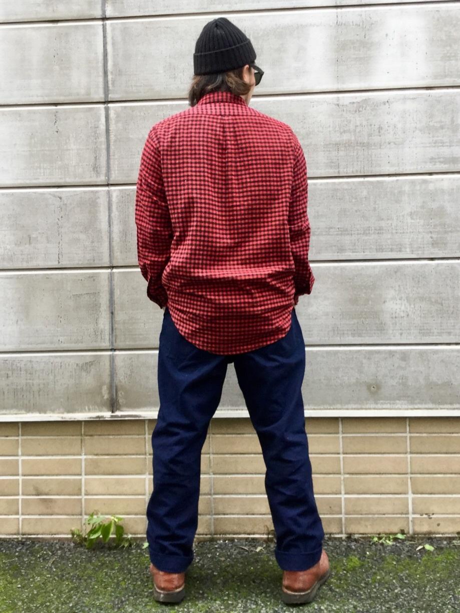 TOKYO HARAJUKU店のSHIZUKUさんのEDWINの【コンセプトショップ限定】INDIGO GARMENTS FATIGUE PANTSを使ったコーディネート
