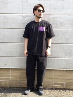 TOKYO HARAJUKU店のSHIZUKUさんのEDWINの【コンセプトショップ限定】EDWIN EUROPE PRO HEALER TEEを使ったコーディネート