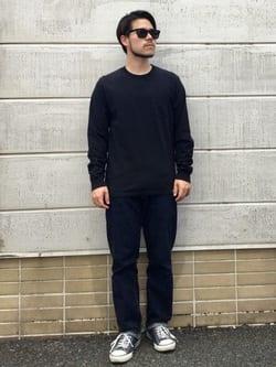 TOKYO HARAJUKU店のSHIZUKUさんのEDWINの【SALE】【コンセプトショップ限定】POCKET TEEを使ったコーディネート