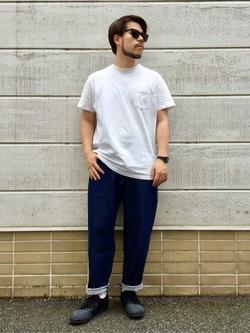 TOKYO HARAJUKU店のSHIZUKUさんのEDWINの【通販限定】YELLOW TAB KATANAを使ったコーディネート