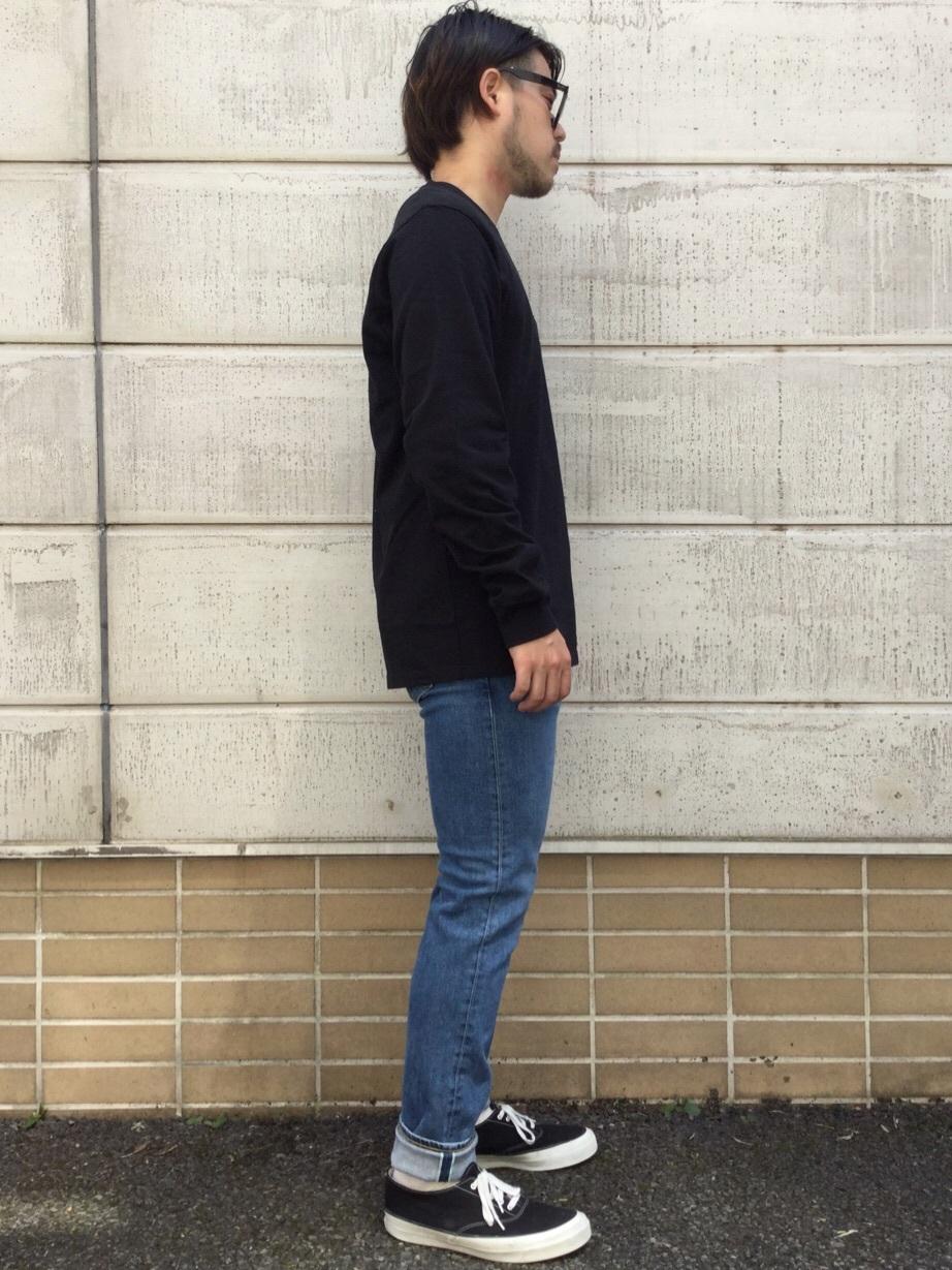 TOKYO HARAJUKU店のSHIZUKUさんのEDWINの【コンセプトショップ限定】EDWIN EUROPE SLIM TAPEREDを使ったコーディネート