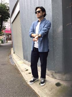 TOKYO HARAJUKU店のSHIZUKUさんのEDWINの【コンセプトショップ限定】REGULER STRAIGHT 【レングス87cm】を使ったコーディネート