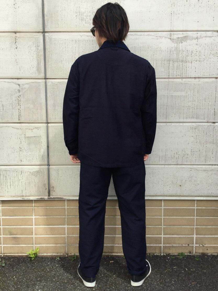 TOKYO HARAJUKU店のSHIZUKUさんのEDWINの【コンセプトショップ限定】INDIGO GARMENTS HUNTING JACKETを使ったコーディネート