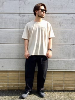 TOKYO HARAJUKU店のSHIZUKUさんのEDWINの【コンセプトショップ限定】EDWIN EUROPE SOUVENIR FROM JAPAN 2 TEEを使ったコーディネート