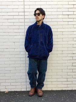 TOKYO HARAJUKU店のSHIZUKUさんのEDWINの【Winter sale】【コンセプトショップ限定】F.L.E NAVY PACK  LEVEL3 FLEECE JACKETを使ったコーディネート