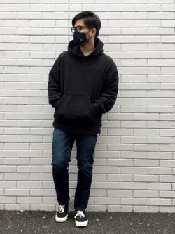 TOKYO HARAJUKU店のSHIZUKUさんのEDWINのジャージーズ レギュラーストレート【スタンダードモデル】を使ったコーディネート
