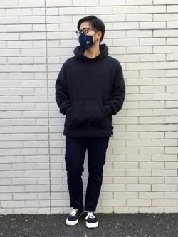TOKYO HARAJUKU店のSHIZUKUさんのEDWINのジャージーズ スリムテーパード【スタンダードモデル】を使ったコーディネート
