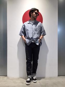 TOKYO HARAJUKU店のSHIZUKUさんのEDWINの【コンセプトショップ限定】SLIM TAPERED 【レングス82cm】を使ったコーディネート