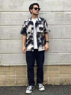 TOKYO HARAJUKU店のSHIZUKUさんのEDWINの【SALE】【コンセプトショップ限定】EDWIN EUROPE PHOTO COPY SHIRTを使ったコーディネート
