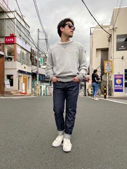 TOKYO HARAJUKU店のSHIZUKUさんのEDWINの【コンセプトショップ限定】SLIM TAPERED 【レングス87cm】を使ったコーディネート