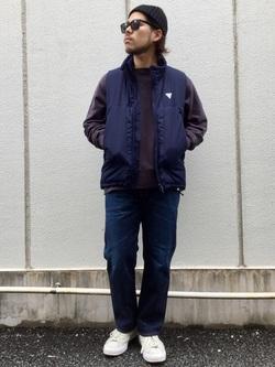 TOKYO HARAJUKU店のSHIZUKUさんのEDWINの【コンセプトショップ限定】REGULER STRAIGHT 【レングス71cm】を使ったコーディネート