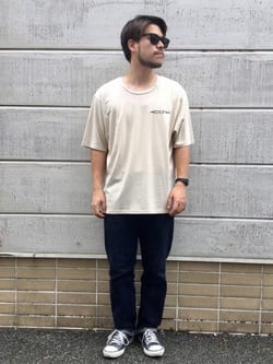 TOKYO HARAJUKU店のSHIZUKUさんのEDWINの【SALE】【コンセプトショップ限定】EDWIN EUROPE SOUVENIR FROM JAPAN 2 TEEを使ったコーディネート