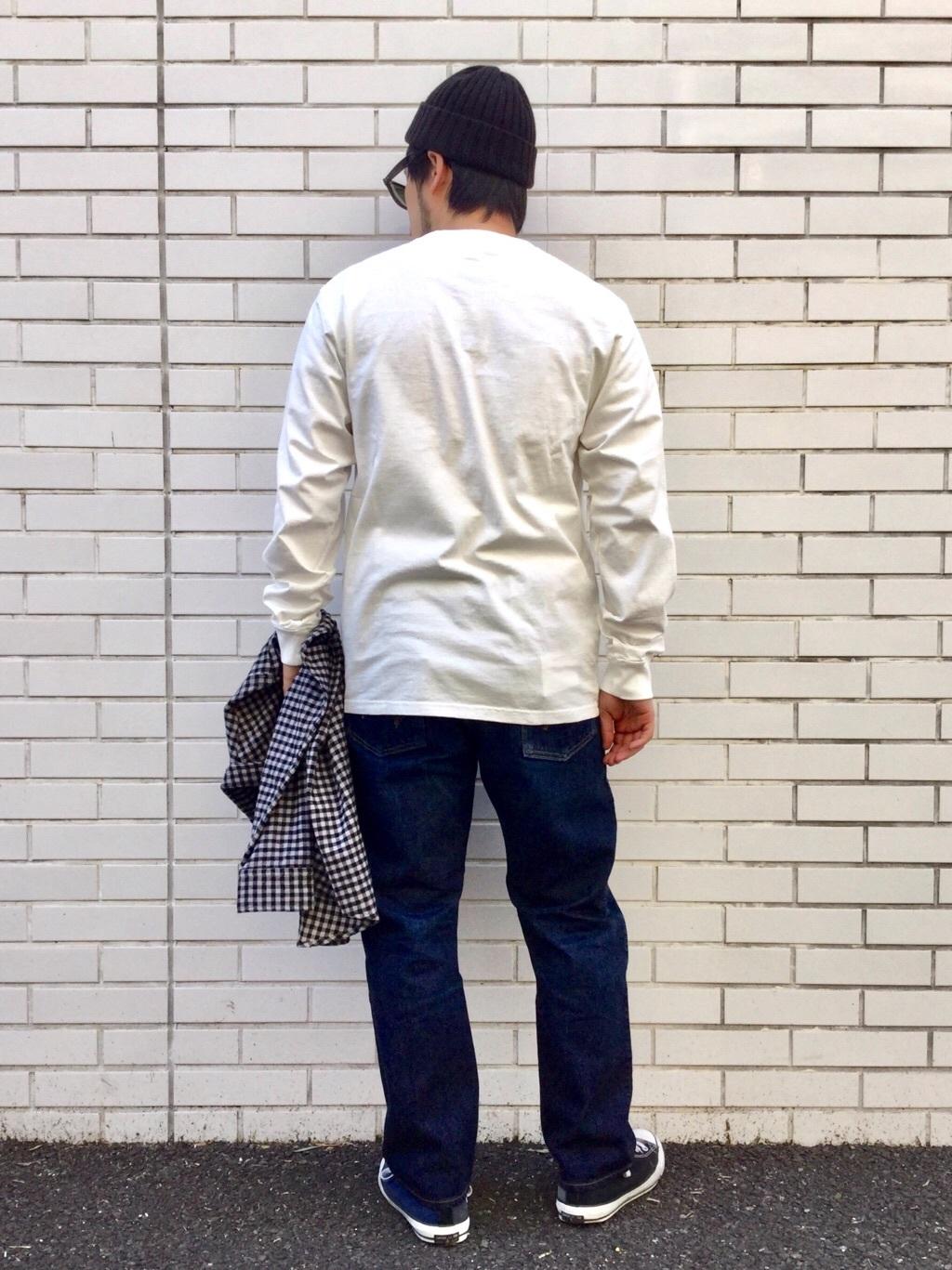 TOKYO HARAJUKU店のSHIZUKUさんのEDWINの【コンセプトショップ限定】POCKET TEEを使ったコーディネート