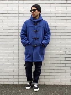 TOKYO HARAJUKU店のSHIZUKUさんのEDWINの【コンセプトショップ限定】DUFFEL COATを使ったコーディネート