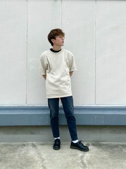 エスパル仙台店のkaedeさんのLeeの【Winter sale】【ユニセックス】ヘビーウエイト Tシャツを使ったコーディネート