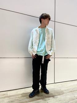 エスパル仙台店のkaedeさんのLeeの終了【サマーセール】ポケット付きTシャツ 長袖を使ったコーディネート