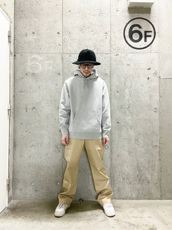 錦糸町PARCO店の嗣さんのEDWINの505 チノ ワイドストレートを使ったコーディネート