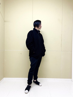 錦糸町PARCO店の嗣さんのEDWINの【おうち時間応援セール】F.L.E ボアフリースジャケットを使ったコーディネート