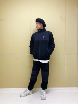錦糸町PARCO店の嗣さんのEDWINの【おうち時間応援セール】F.L.E フリースジャケットを使ったコーディネート