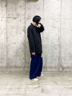 錦糸町PARCO店の嗣さんのEDWINの終了【FINAL SALE】ワークジャケットを使ったコーディネート