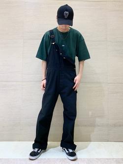 Lee アミュプラザ博多店のTakeshiさんのLeeの【ユニセックス】ヘビーウエイト Tシャツを使ったコーディネート