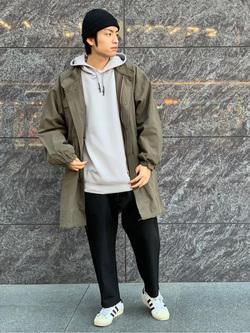 LINKS UMEDA店のKo-jiさんのEDWINのF.L.E ワイド テーパードを使ったコーディネート