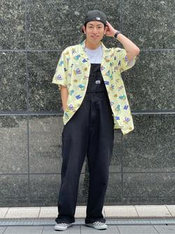 LINKS UMEDA店のKo-jiさんのEDWINの【15%OFFクーポン対象】【直営店限定】オーバーオール【ユニセックス】を使ったコーディネート