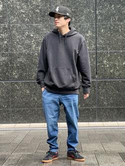 LINKS UMEDA店のKo-jiさんのEDWINの【特別企画ジャージーズ10%OFF】ジャージーズ イージーを使ったコーディネート