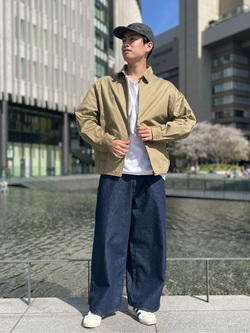 LINKS UMEDA店のKo-jiさんのEDWINの【通販限定】YELLOW TAB HAKAMAを使ったコーディネート