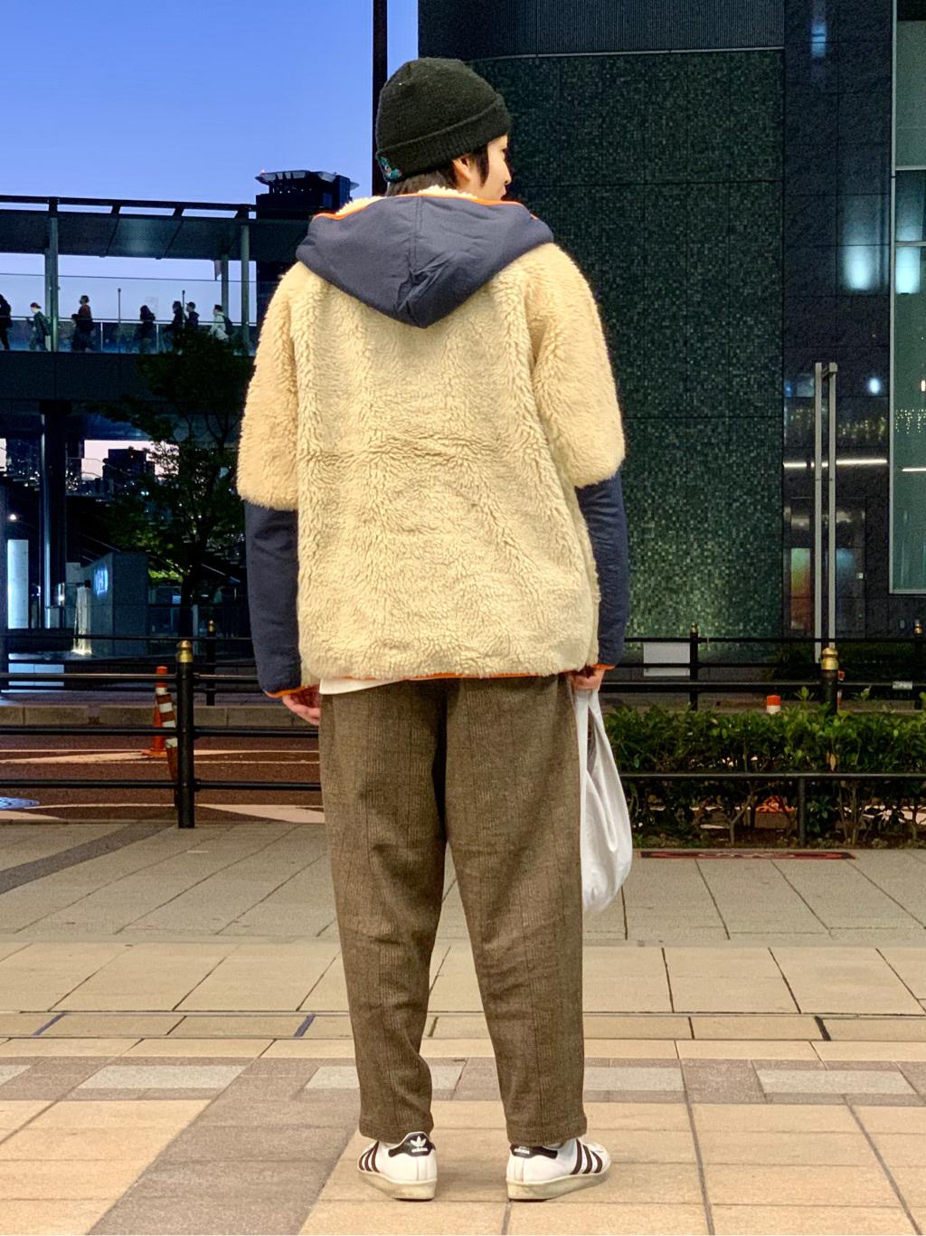 LINKS UMEDA店のKo-jiさんのEDWINのジャージーズ チノ ワイドを使ったコーディネート