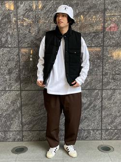LINKS UMEDA店のKo-jiさんのEDWINの【再値下げ Winter sale】F.L.E ワイド テーパードを使ったコーディネート
